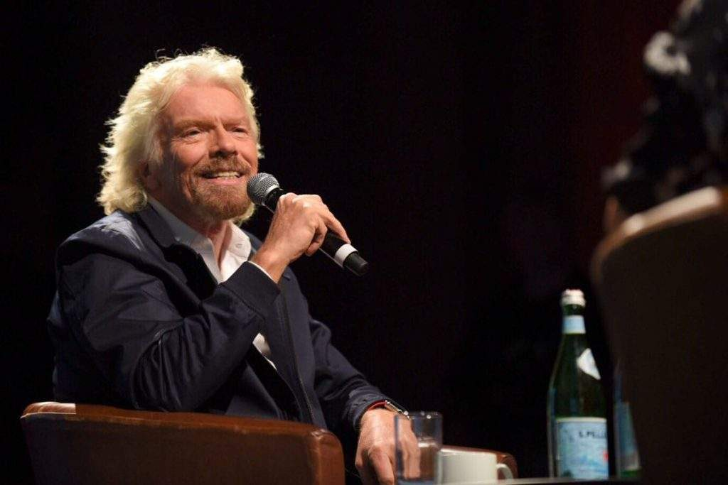 richard branson talking branding