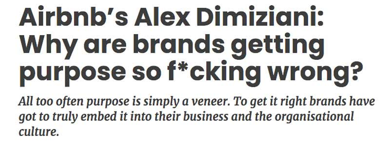 brands are getting purpose wrong