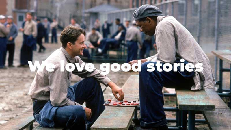 good stories shawshank
