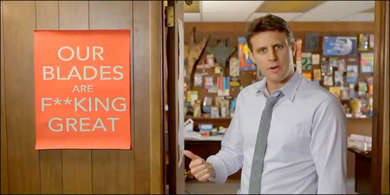 brand personality example dollar shave club