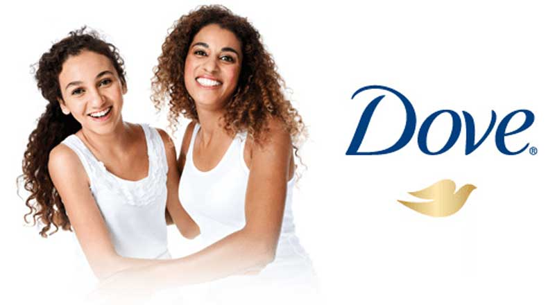 brand personality example dove