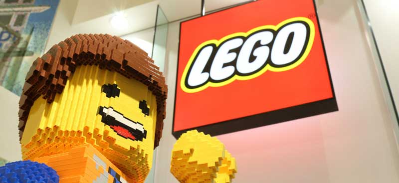 brand personality example lego
