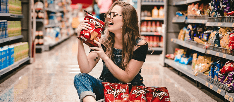 Branding vs Marketing doritos