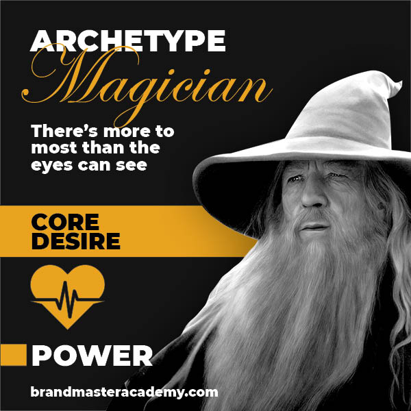 brand personality magician