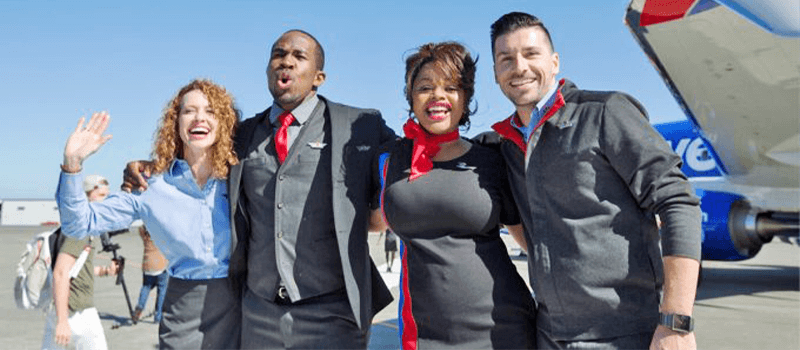 brand case study southwest attendants