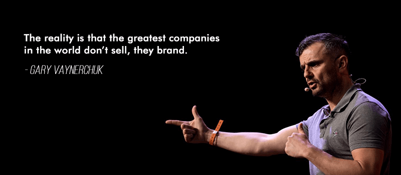 brand strategy framework gary quote