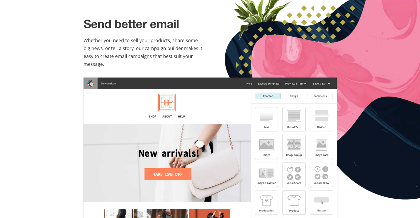 rebrand case study email