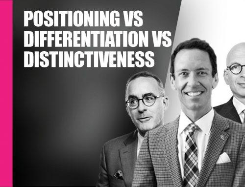 Brand Positioning vs Differentiation vs Distinctiveness
